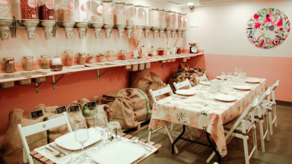 Vista comedor - Bicocina Organic, Madrid