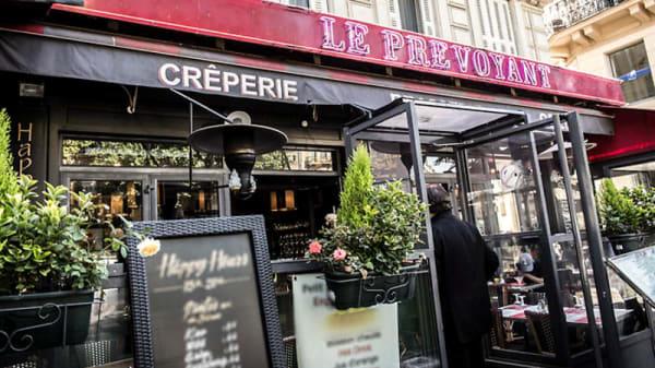 entrée - Le Prévoyant, Paris