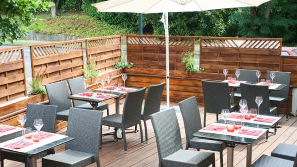 terrasse - La Table de Cassan, L'Isle-Adam