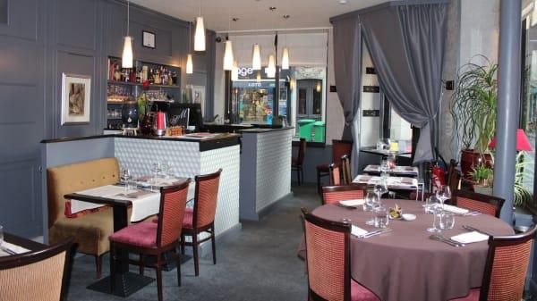 intérieur du restaurant - Stéphane Martin, Paris
