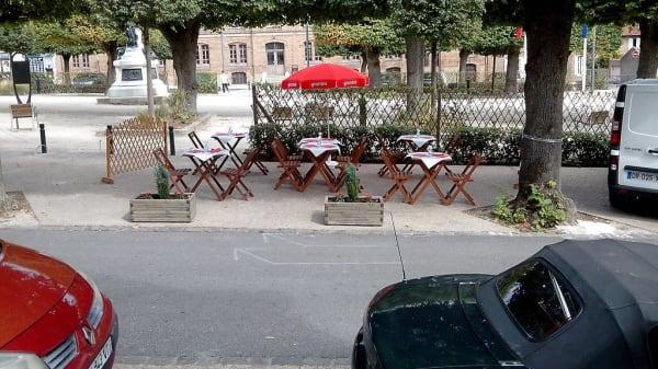 terrasse - Mon Petit Bouchon, Noisiel