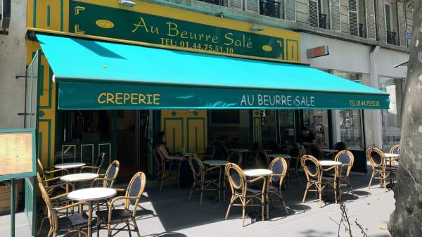 Entrée - Au Beurre Salé, Paris