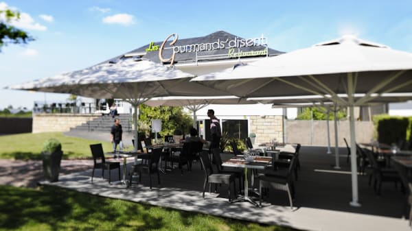 Restaurant avec terrasse - Les Gourmands Disent, Orvault