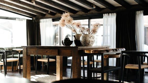 Vue de la salle - La Table de l'Alpaga, Megève