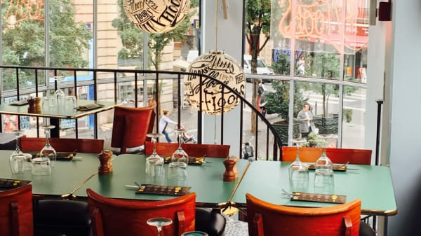 Table dressée - Floors, Paris