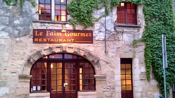Vue devanture - Le Faim Gourmet, Libourne