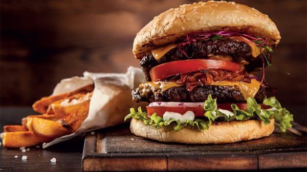 Prato - Davis Burgers, São Paulo