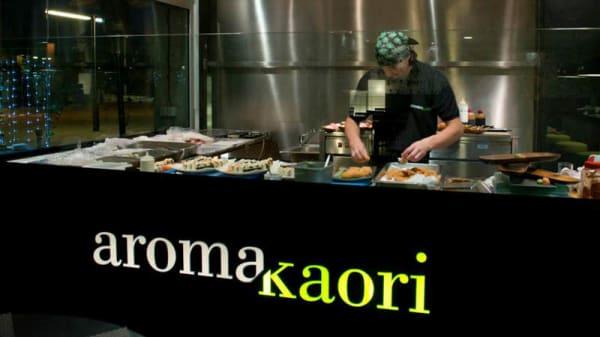 Vista cocina - Aroma Kaori Port Badalona, Badalona
