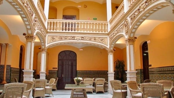 Vista salón - Palacio Arteaga, Olivenza