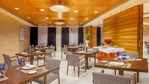 Sala del restaurante - El Dossel - Hotel Sercotel Sorolla Palace, Valencia