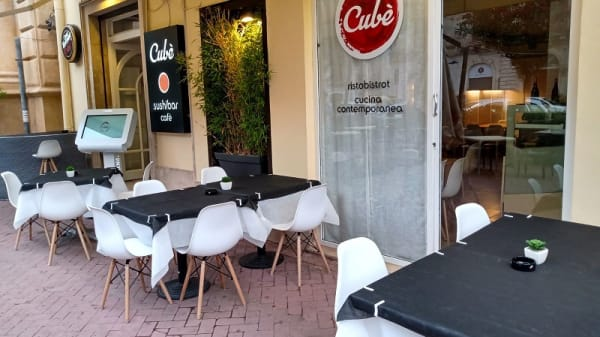 Terrazza - Cube ristobistrot - cucina contemporanea, Modica