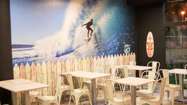 Vista de la sala - Alohers coffee surf, Arniches