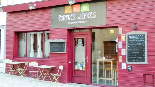 Entrée - Pommes d'Epices, Rouen