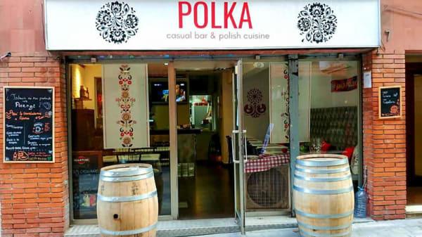 Entrada - Polka Bar, Barcelona