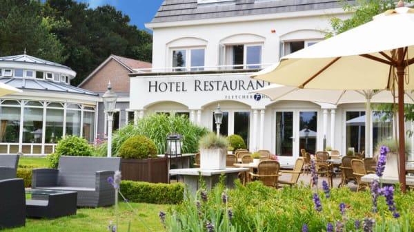 Terras - Fletcher Hotel-Restaurant De Witte Raaf, Noordwijk