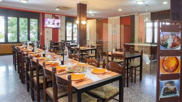 Sala del restaurante - Hostal Collsacabra, Santa Maria De Corco