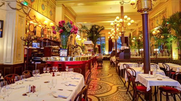 Salle du restaurant - Le Grand Colbert, Paris