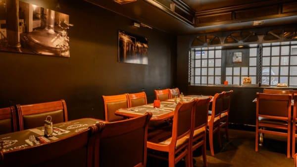 Vue de la salle - Boston Steak House Toison d'Or, Ixelles