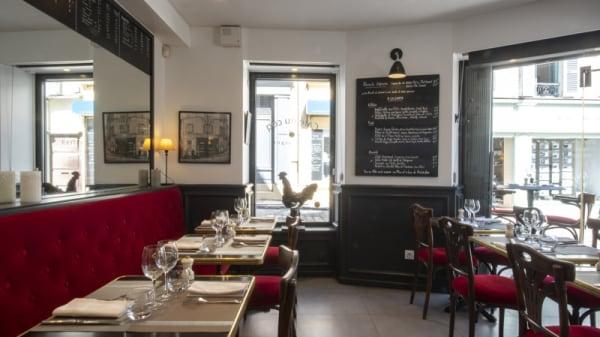 Vue de la salle - Cafe du Coq, Montfort-l'Amaury