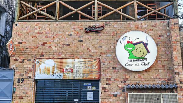 Fachada - Restaurante Casa da Chef, Salvador