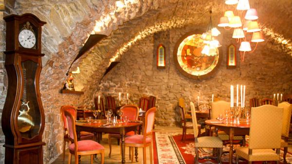Salle rustique - La Cuisine d'Antoine, Millery