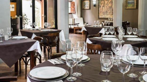 Vista de la sala - S´hostal d´Esporles restaurant, Esporles
