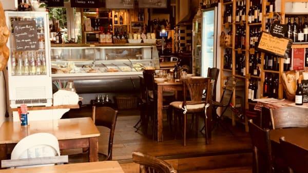Het restaurant - La Zia Maria Italiaanse Delicatessen & Traiteur, Rotterdam