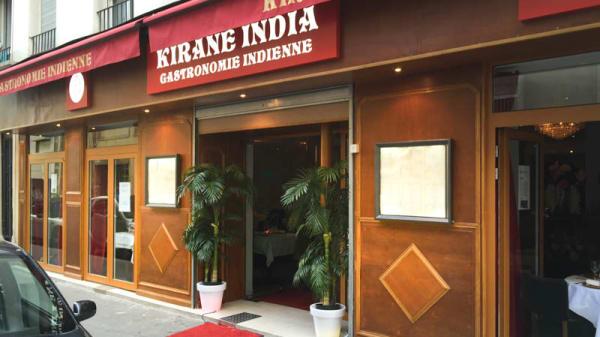 Devanture - Kirane India, Paris