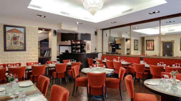 Vue de la salle - Restaurant Libanais Ugarit, Paris