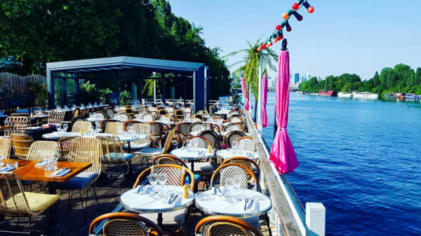 Terrasse - Aqua Restaurant, Suresnes