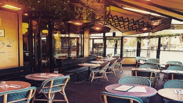 La Terrasse chauffée - Le Formidable, Paris
