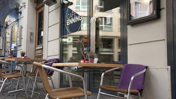 Terrasse - Café Enning, Lausanne