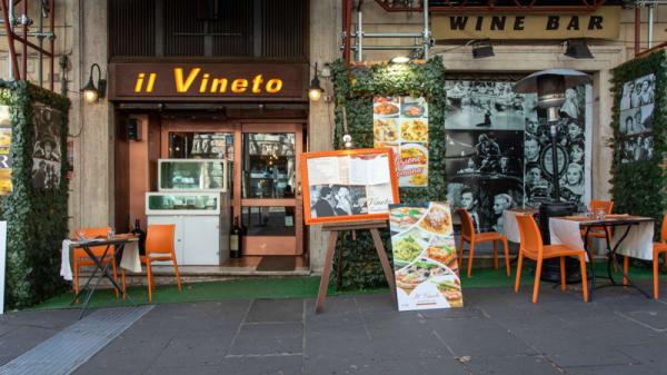 Entrata - Il Vineto, Roma
