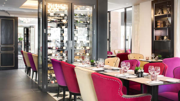 la salle de restaurant N3 - N3 Villa Haussmann, Paris