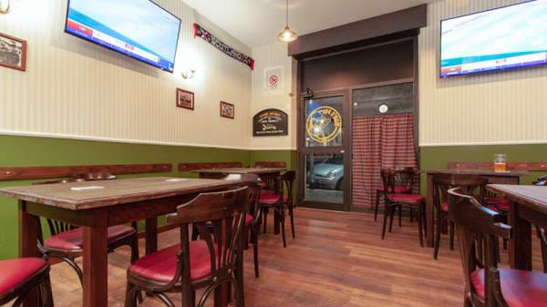 Vista sala - Mole's Pub, Rome