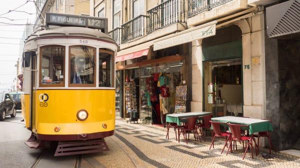 Esplanada - A Minhota da Prata, Lisbon