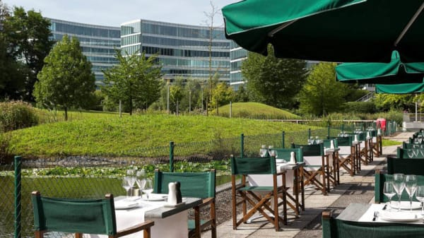 Terrasse - Crowne Plaza Brussels Airport - The restaurant, Zaventem