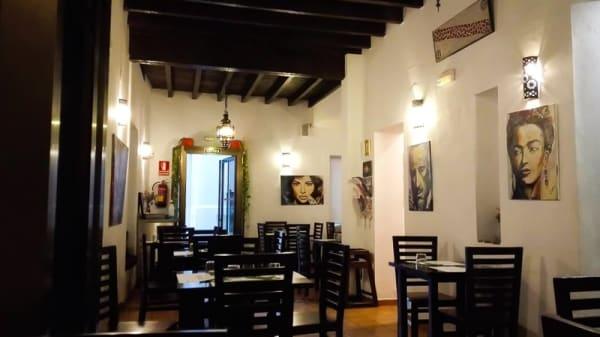 Vista sala - Vegetariano El Calafate, Málaga