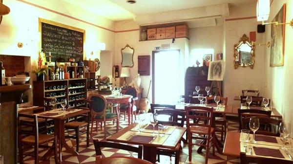 Vista della sala - Club Culinario Toscano da Osvaldo, Firenze