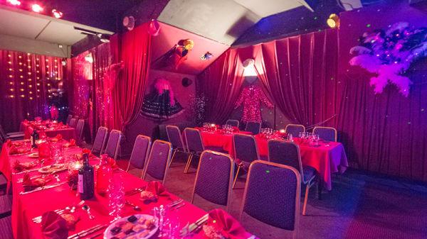 vue de la salle - Cabaret Le Diamant Rose, Bordeaux