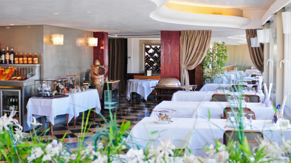 La salle de restaurant - Le Rhul, Marseille