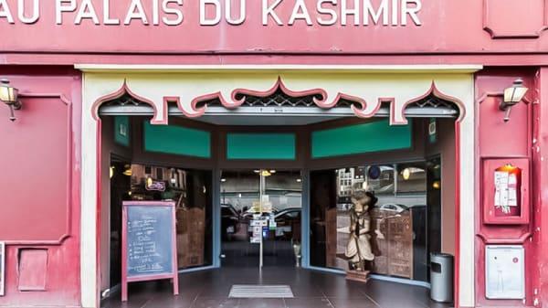 devanture - Au Palais du Kashmir, Lille