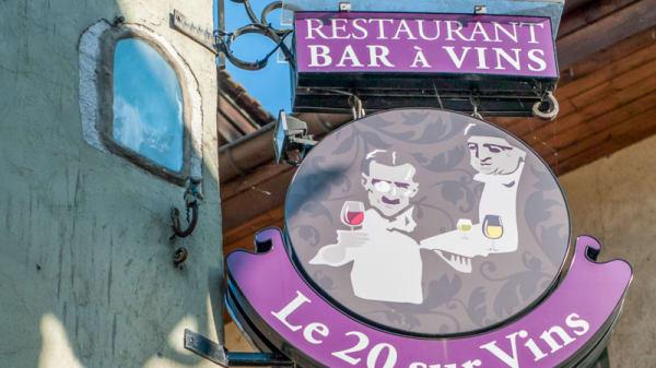 Enseigne du 20/Vins - Le 20/VINS, Annecy