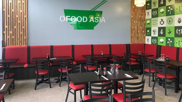 Salle du restaurant - Food Asia, Palaiseau