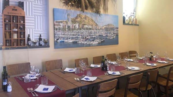 Vista sala - La Casa del Mar, Alicante (Alacant)