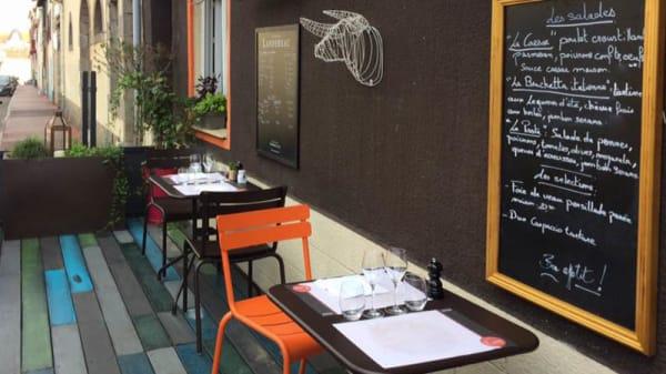 Terrasse - Le Boeuf à la Mode, Limoges