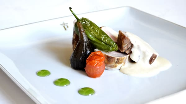 Sugerencia del chef - Restaurante Parador de Cáceres, Cáceres