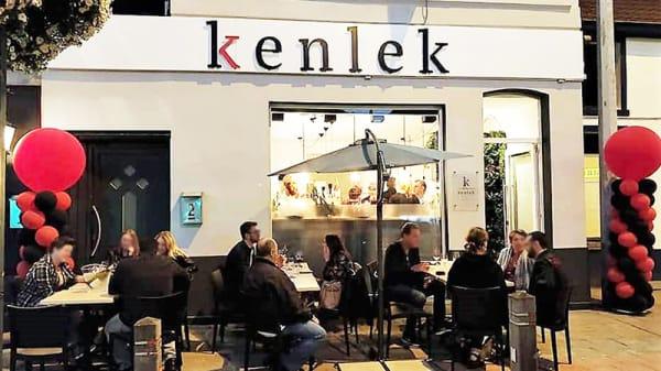 Vue de la terrasse - Kenlek, Waterloo