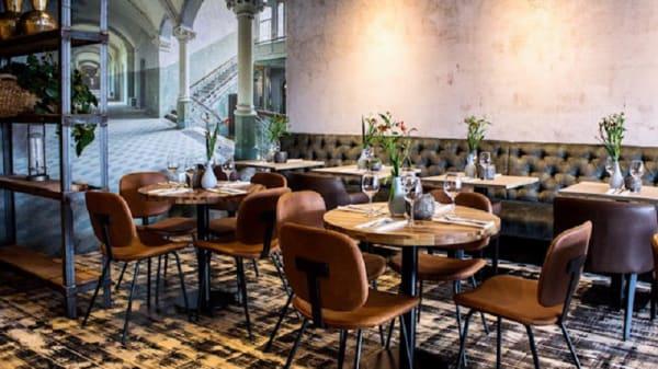 het restaurant - Dimitri's Grand Café, Amsterdam