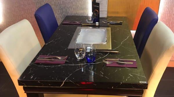 Vue de la salle - Restaurant du Stade, Grenoble
